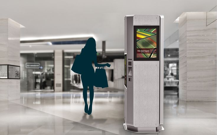 Milano is a fabric covered information & ticketing kiosk, which can be easily accessed also by wheelchair users. There are two standard sized touchscreens.. Industrial Design by REMION, Budapest