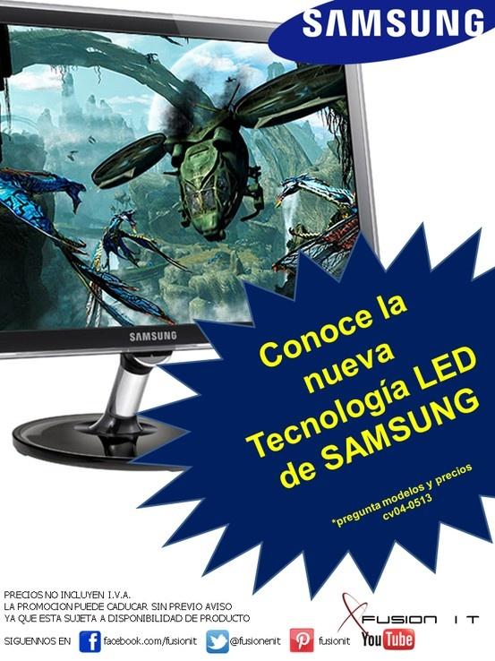NUEVA TECNOLOGIA LED DE SAMSUNG EN MONITORES
