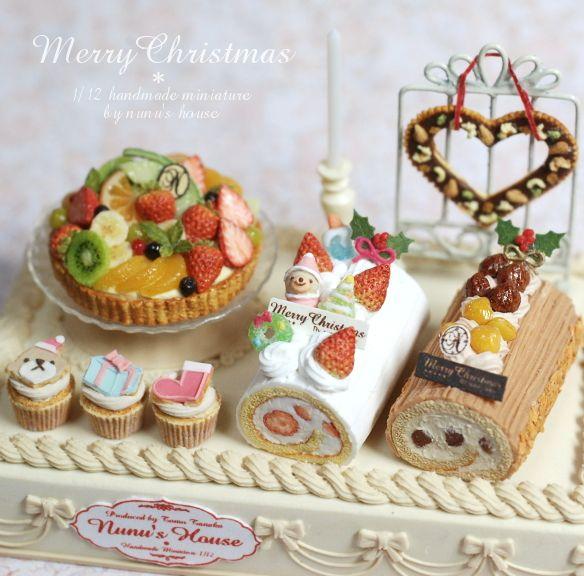 *Nunu's HouseのミニチュアBlog* 1/12サイズのミニチュアの食べ物、雑貨などの制作blogです。                                                                                                                                                                                 もっと見る