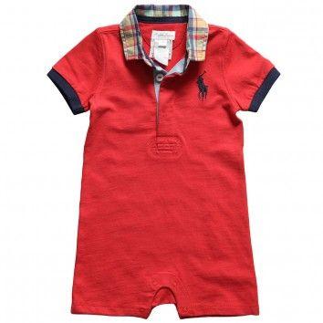 Ralph Lauren Baby Boy Polo Shortie