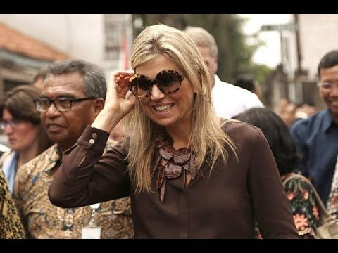 Dutch Queen Maxima's Indonesia visit 2nd day