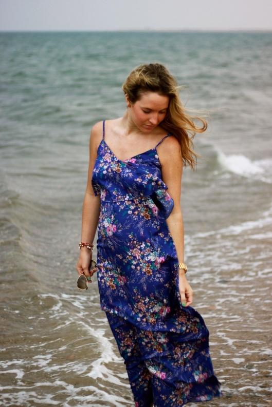TJ Maxx Blue Dress