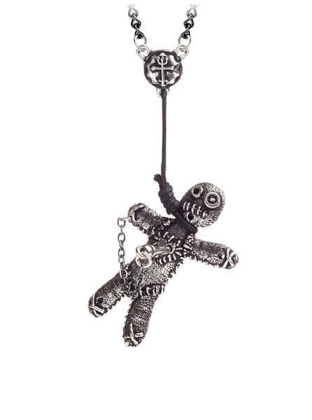 "Buy the ""Voodoo Doll"" Pendant by Alchemy of England (Pewter) at Inked Shop. We've got coupon codes every day!"