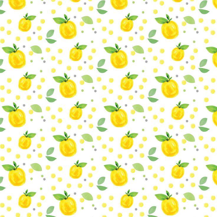 Lemon Print Lemon Kitchen Art You Are My Main By Eatsaylove photo - 2