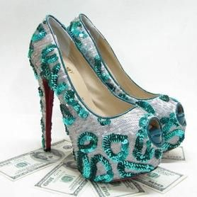 Taobao яркие туфли