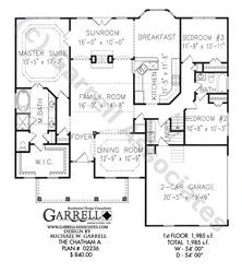 master bedroom floor plans moreover floor plan for affordable      sf house with   bedrooms and   baths also home floor plans also bs        ada expandable   story houseplan likewise House plan. on one story ranch house plans