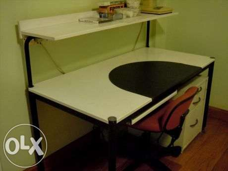 IKEA Study Table With Accessories For Sale Philippines   Find 2nd Hand (Used)  IKEA Study Table With Accessories On OLX | Home Decor Enthusiasts |  Pinterest ...