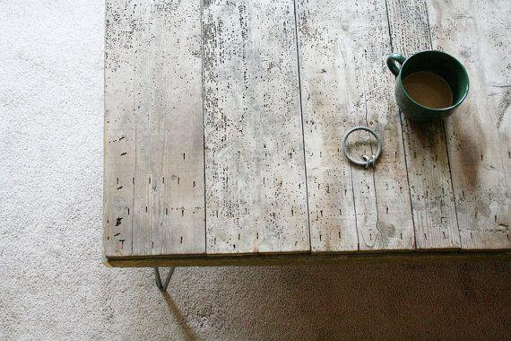 //: Wood Coffee Tables, Reclaimed Wood Coff Tables, Wood Furniture, Modern Reclaimed, Hairpin Legs, Coff Tables Tops Design, Modern Industrial, Wood Tables, Reclaimedwood
