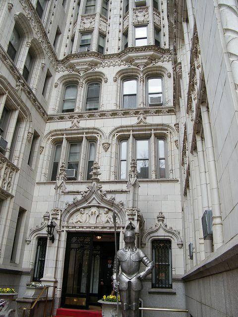 Historic New York City Apartment Building , Gramercy Park