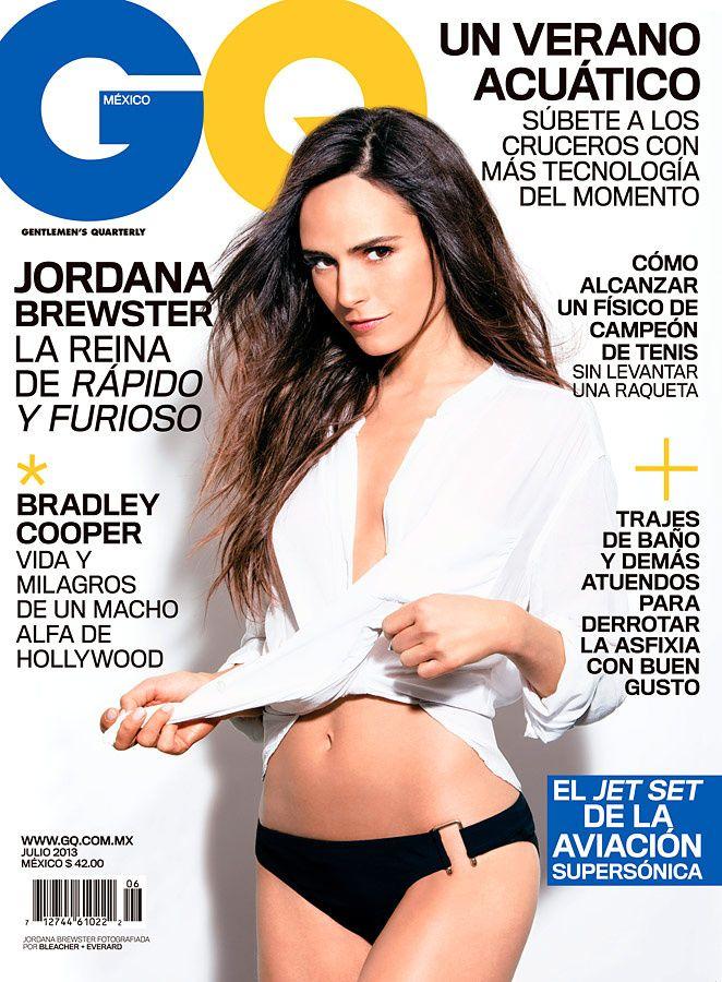 Jordana Brewster en portada de GQ México (Julio 2013)