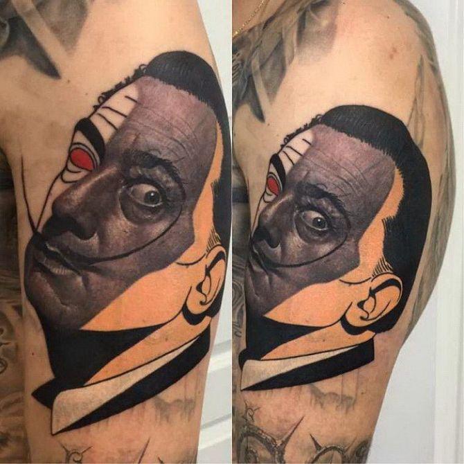 Яркие, реалистичные и очень оригинальные татуировки мастера Dzikson Wildstyle
