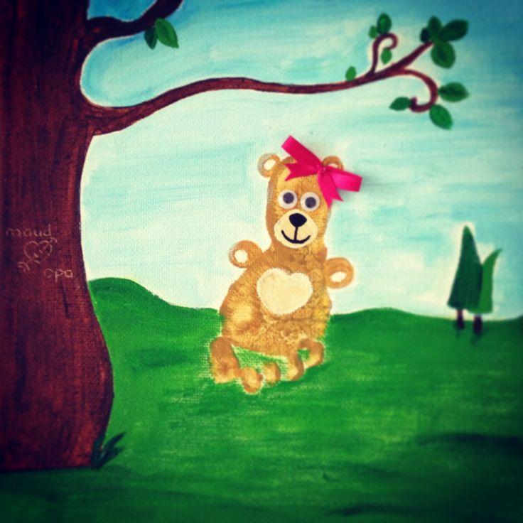 Sweet teddy bear!