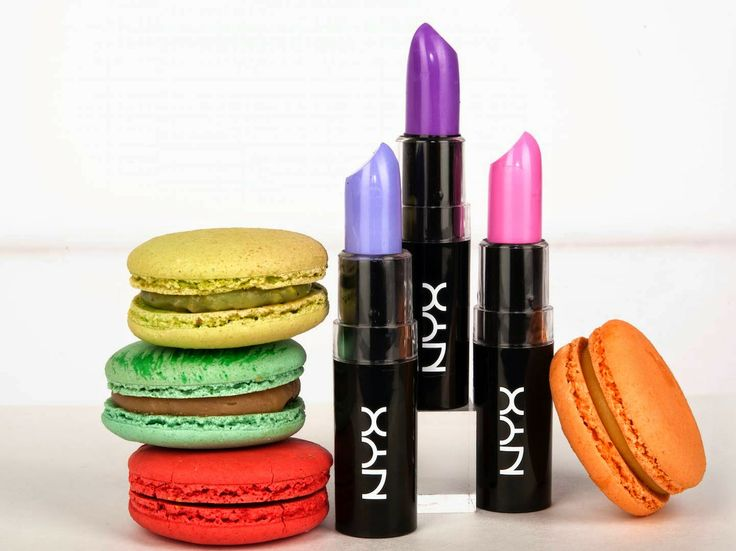 Macaron Inspired Lippies from NYX Cosmetics
