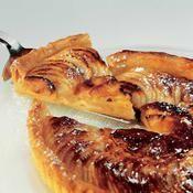 Recette tarte fine aux reinettes d'armorique