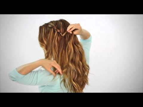 waterfall twist SO easy I've seen this so many times on here but always seemed way to difficult! SO easy I am so doing this!