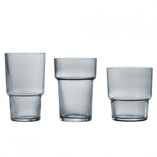 Same Same But Different set of 3 glasses