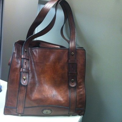 Leather fossil bag.  Got it in black...LOVE it!
