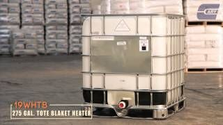 Tote Blankets. Insulated Blanket Heaters are for fast heat up and warming of drums, totes and pails. Industrial Blanket Heaters provide even heat distribution as well as insulation. Heater Blankets have adjustable straps for secure fit, and they work on both metal and plastic drums, pails and totes.  http://www.thecarystore.com/containers-categories/packaging-and-containers-tools-and-equipment-pail-tote-and-drum-heaters-and-blankets