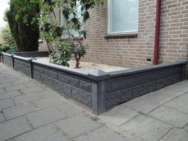 Geliefde Lage tuinafscheiding van beton | erfafscheiding tuin - Home Decor @XF21