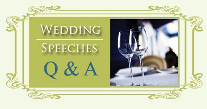 Wedding Speeches: Matron of Honor Wedding Speech Example