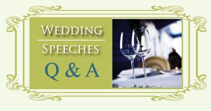 Wedding Speeches: Matron of Honor Wedding Speech Example
