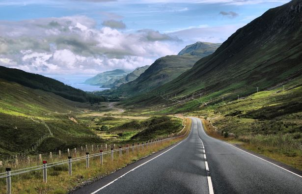 Take the high road to the Highlands for the perfect UK motorhome holiday. Winding roads and knockout views near Kinlochewe, north west Highlands - Mirror Online