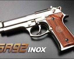 pistol airsoft sr92 inox