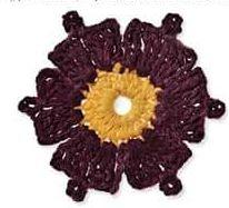Patrón #1436: Granny a Crochet | CTejidas [Crochet y Dos Agujas]