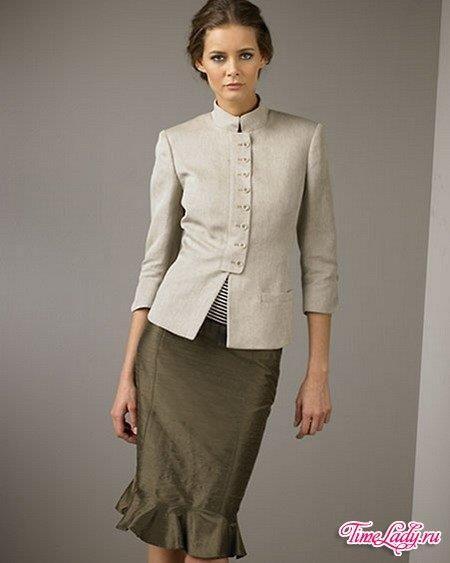 Платье своим видом показывает профессионализм