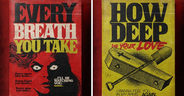 Brazilian Illustrator Reimagines Famous Love Songs As Creepy Book Covers By Stephen King | Bored Panda