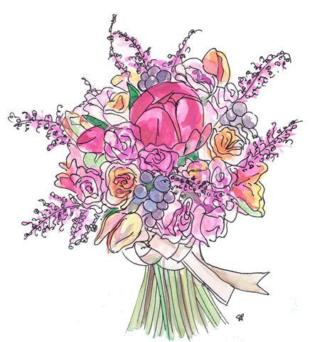 Different Types of Bridal Bouquets / Sarah Park Designs