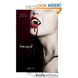 In Betrayed by Morgan Rice,  (Book #3 in the Vampire Journals) Caitlin is horrified to discover Caleb with his ex-wife, Sera, and before Caleb has a chance to explain, Caitlin tells him to leave. Heartbroken, confused, Caitlin wants to curl up and die, her only consolation being in her wolf-pup Rose.