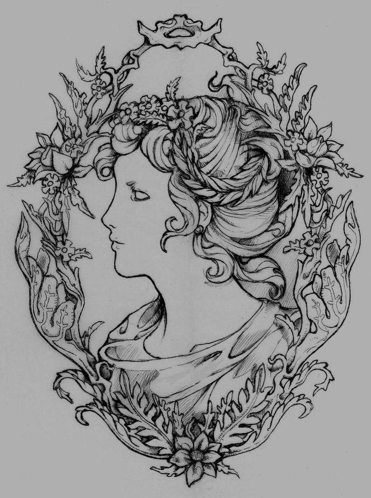 Famous Line Of Artemis : Best cameo tattoo ideas on pinterest frame tattoos