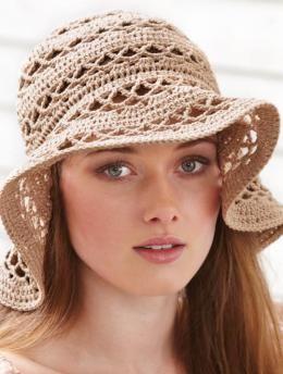 Ladies Crochet Hat | free pattern on Schachenmayr.com