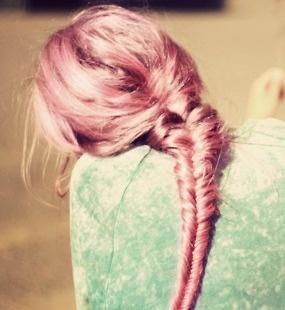 Cabello palo de rosa