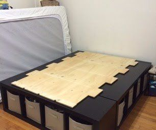 Shelf Bed Storage