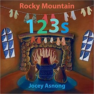 Rocky Mountain 123s: Sun comes up and it's time to learn about numbers! Join children's book illustrator Jocey Asnong on another colourful adventure celebrating the beauty and diversity of the Rocky Mountains.This lyrical story teaches number recognition and counting from 1 to 20 with the help of different alpine animals participating in a range of fun mountain activities. Watch three bears sliding down scree, six lynx practising snowboard tricks and eight elk learning to skate.