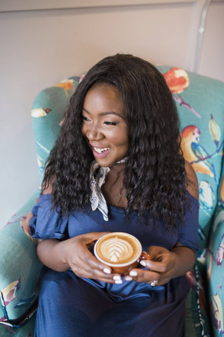 Blue Maxi Dress + Coffee Date - Ruthie Ridley Blog