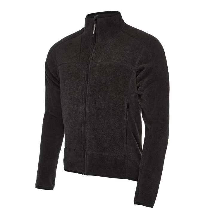 Warm sweater for men, made of a blend of wool and fleece. A reliable middle layer on the mountain as well as in the city.