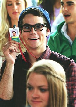 Dylan O'Brien being a total nerd on the set of The Internship. <3