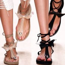 2015 de Isabel Marant Vintage mujer mujeres sandalia de la correa del tobillo ata para arriba el arco zapatos de vestir de mujer(China (Mainland))