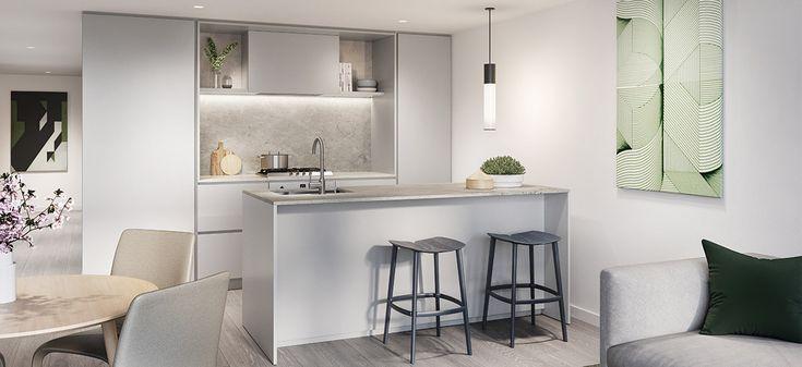 luxury kitchen bentleigh alba apartments melbourne