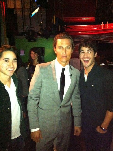 Darren, Chuck and Matthew McConaughey