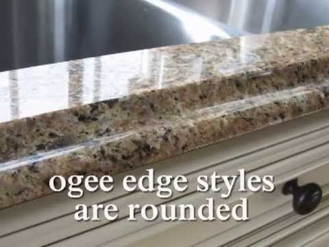Once you have selected your Granite color, the next major decision will be what edge to fabricate on your countertops.The granite edge has a lot to do with its overall beauty. We have put together several videos to help you make your selection.