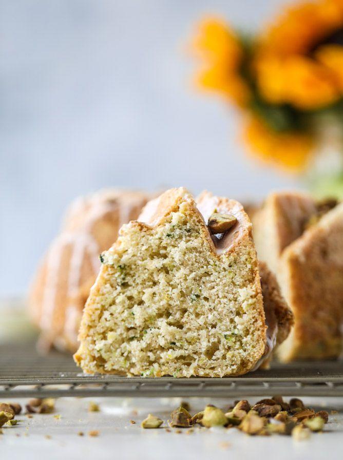 Lemon Pistachio Zucchini Cake (from How Sweet It Is)