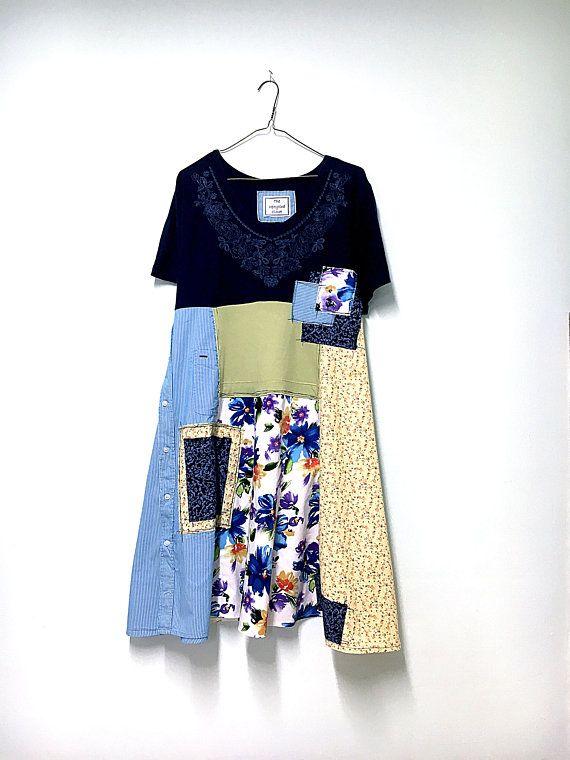 fc659d4988 Plus Size Tunic Dress Unique Boho Dress Boho Gypsy Clothes