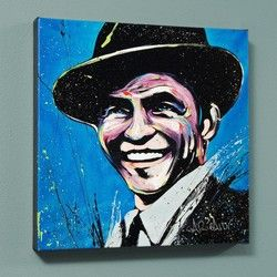 """""""Frank Sinatra (Blue Eyes)"""" LIMITED EDITION Giclee on Canvas (36"""" – Current sales – Barnebys.co.uk"""