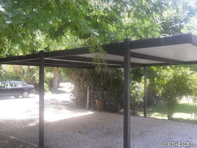 34 mejores im genes sobre techos y sombras en pinterest for Como hacer una estructura metalica para techo