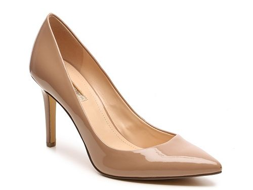BCBGeneration Levonne Pump. Seeing a lot of nude shoes on the interwebs these days.
