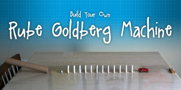rube goldberg machine kit